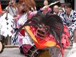 谷保天満宮の古式獅子舞.JPG